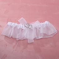 cheap Wedding Garters-Polyester Wedding Garter with Sweetheart Wedding AccessoriesClassic Elegant Style