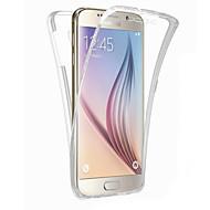 のために Samsung Galaxy S7 Edge クリア ケース フルボディー ケース ソリッドカラー TPU Samsung S7 edge / S7 / S6 edge plus / S6 edge / S6 / S5