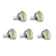 6W GU10 LED Spotlight 48 leds Warm White Natural White 500-550lm 3500/5000K AC 100-240V