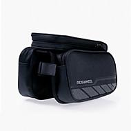 ROSWHEEL Vesker til sykkelramme Mobilveske 5.5 tommers Vanntett Glidelås Anvendelig Fukt-sikker Støtsikker Berøringsskjerm Sykling til