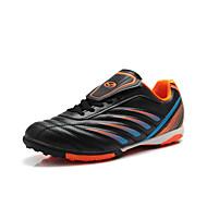 男性 サッカー 靴 合皮 ブラック / ブルー