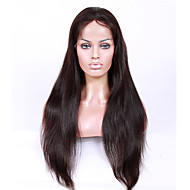 נשים פיאות תחרה משיער אנושי שיער אנושי תחרה מלאה חזית תחרה הוכן באמצעות מכונה חלק U ללא דבק, תחרה מלאה חלק קדמי תחרה ללא דבק 130% 150%