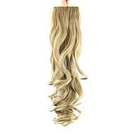 Cheveux Synthétiques Pièce de cheveux Extension des cheveux Ondulation naturelle
