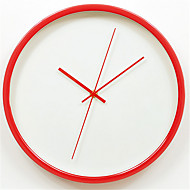 Moderne / Nutidig Andre Veggklokke,Rund Metall Klokke
