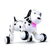 Χαμηλού Κόστους Ηλεκτρονικά κατοικίδια-RC Robot Μάθησης & Εκπαίδευση Σκύλος ρομπότ Ηλεκτρονικό κατοικίδιο ζώο 2,4 G Πλαστική ύλη ABS Μπροστά πίσω Χορός Περπάτημα