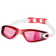 billiga Swim Goggles-Simglasögon Vattentät / Anti-Dimma / Stöttålig Teknisk plast PC Röd / Svart / Blå N / A