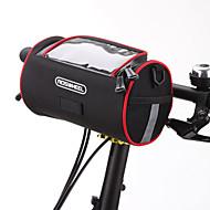 hesapli Bisiklet Gidon Çantaları-ROSWHEEL Cep Telefonu Çanta / Bisiklet Gidon Çantaları 6 inç Dokunmatik Ekran Bisiklet için Samsung Galaxy S6 / iPhone 5C / iPhone 4/4S / iPhone 8/7/6S/6 / iPhone 8 Plus / 7 Plus / 6S Plus / 6 Plus