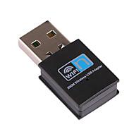 billige Network Adapters-mini usb wifi mottaker trådløs adapter rtl8192 300Mbps