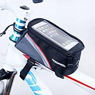 Χαμηλού Κόστους ROSWHEEL®-ROSWHEEL Κινητό τηλέφωνο τσάντα / Τσάντα για σκελετό ποδηλάτου 5.5 inch Οθόνη Αφής Ποδηλασία για iPhone 8 Plus / 7 Plus / 6S Plus / 6 Plus / iPhone X Κόκκινο / Αδιάβροχο Φερμουάρ