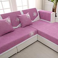 billige Overtrekk-solid høyverdig chenille sofa håndkle fire årstider sklisikkert stoff sofa pute