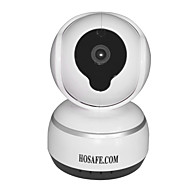 billige IP-kameraer-HOSAFE.COM 1.0 MP IP Camera Innendørs with Primær Dag Natt IR-kutt 32G