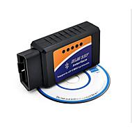 Bluetooth Bluetooth obd2 v2.1 ELM327 fordon detektor, fordon bränsleförbrukningsmätare