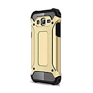 のために Samsung Galaxy ケース 耐衝撃 ケース バックカバー ケース 鎧タフケース ソフト シリコン Samsung J7 (2016) / J7 / J5 / J1 (2016) / J1 Mini / Grand Prime / C5