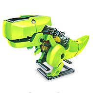 hesapli Robotlar, Canavarlar ve Uzay Oyuncakları-4 in 1 Robot / Güneş Enerjili Oyuncaklar Dinozor Güneş Enerjisi ile çalışır / Eğitim / Kendin-Yap ABS Çocuklar için Genç Kız / Genç Erkek