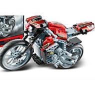 ieftine Toy Motociclete-Jucării pentru mașini / Lego / Toy Motociclete 1pcs Mașină / Moto / Camion Ecologic Motocicletă / Vehicul de Construcție Băieți Cadou