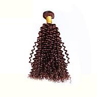 Человека ткет Волосы Бразильские волосы Волнистые 1 шт. волосы ткет