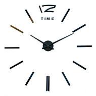 Moderne / Nutidig / Avslappet Familie Wall Clock,Rund / Nyhet Akryl / Metall / Rustfritt Stål 50Innendørs / Utendørs / Innendørs /