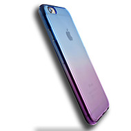 billiga Mobil cases & Skärmskydd-fodral Till Apple iPhone 6 iPhone 6 Plus Genomskinlig Skal Färggradient Mjukt TPU för iPhone 6s Plus iPhone 6s iPhone 6 Plus iPhone 6