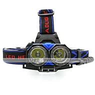 preiswerte -LED Taschenlampen Stirnlampen Radlichter Laternen & Zeltlichter Fahrradlicht Fahrradrücklicht Ladegerät LED Cree XM-L T6 Radsport Alarm