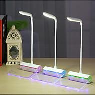 billige Skrivebordslamper-Moderne / Nutidig Oppladbar Skrivebordslampe Til Plast Grønn Blå Rosa