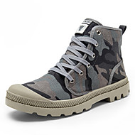 cheap Men's Boots-Men's Shoes Canvas Outdoor / Work & Duty / Athletic / Casual Boots Outdoor / Work & Duty