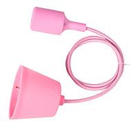 youoklight barevné silikonové přívěšek světla e27 držák moderní módní kutilství designové tvůrčí závěsná svítidla