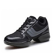 baratos Sapatilhas de Dança-Homens Tênis de Dança / Sapatos de Dança Moderna Courino Oxford / Botas / Têni Sem Salto Não Personalizável Sapatos de Dança Cinzento /