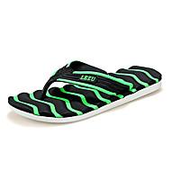 tanie Obuwie męskie-Unisex Komfortowe buty Materiał Lato Klapki i japonki Niepoślizgowy / a Pomarańczowy / Zielony / Niebieski