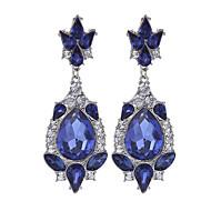 Žene Djevojčice Vintage Zabava Umjetno drago kamenje Pozlaćeni Legura Geometric Shape Jewelry Vjenčanje Party Dnevno Kauzalni Nakit odjeće