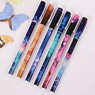 補正用品 ゲルのペン,プラスチック ブラック