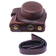 Dengpin® PU Leather Camera Case Bag Cover for Panasonic GF8 12-32mm Lens (Assorted Colors)
