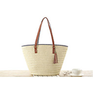 cheap Bags-Women's Bags Straw Tote for Casual All Seasons Beige Army Green Light Brown