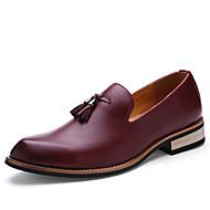 Hombre Zapatos Cuero de Napa Primavera / Otoño Innovador / Zapatos formales Oxfords Arco Iris / Boda / Fiesta y Noche JdZMPo1