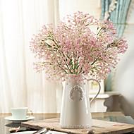 """1 Tak Kunststof Gipskruid Bloemen voor op tafel Kunstbloemen 49(19.2"""")"""