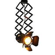 billige Spotlys-CXYlight Spotlys Nedlys - Mini Stil, Rustikk / Hytte Vintage Land Traditionel / Klassisk Retro Rød, 110-120V 220-240V Pære ikke Inkludert