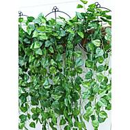 1 Afdeling Polyester Plastik Planter Vægblomst Kunstige blomster 95(37.4'')
