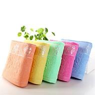 billige Hjemmetekstiler-Frisk stil Badehåndkle,Solid Overlegen kvalitet 100% Bomull Håndkle