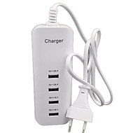 cheap -Home Charger USB Charger EU Plug Multi Ports 4 USB Ports 2 A / 1 A