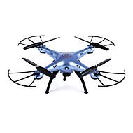 Χαμηλού Κόστους SYMA®-RC Ρομποτάκι SYMA X5HW RTF 4 Kανάλια 6 άξονα 2,4 G Με κάμερα HD 0.3MP 480P Ελικόπτερο RC με τέσσερις έλικες FPV / Φώτα LED / Λειτουργία