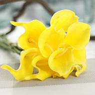 1 Gren PU Calla-lilje Bordblomst Kunstige blomster