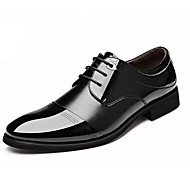 cheap Extended-Size Shoes-Westland® Men's Leather Oxfords Comfort/Pointed Toe  Office & Career/Party & Evening/Casual Low Heel/Brown Oxfords