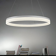 36Watt Pendant Light ,  Modern/Contemporary Painting Feature Metal Acrylic Cord Pendant for Living Room / Dining Room