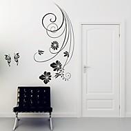 abordables Adhesivos de Pared-Florales Pegatinas de pared Calcomanías de Aviones para Pared Calcomanías Decorativas de Pared, Vinilo Decoración hogareña Vinilos