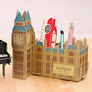 cheap Storage & Organization-DIY Cardboard Desktop Storage Box(The Big Ben)