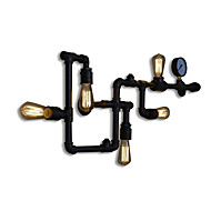 billige Krystall Vegglys-Mini Stil Vegglamper,Rustikk E26/E27 Metall