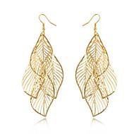 Kwasten Modieus Bohemia Style Legering Bladvorm Gouden Sieraden Voor Dagelijks Causaal 1 paar