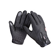 cheap Ski Gloves-Touch Gloves Ski Gloves Bike Gloves / Cycling Gloves Men's Women's Full-finger Gloves Keep Warm Waterproof Windproof Anti-skidding Canvas