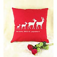 cheap Throw Pillows-pcs Cotton/Linen Pillow Cover, Animal Print Wildlife Toile Casual