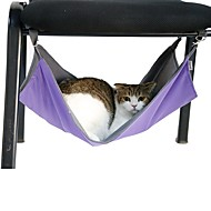 Portable Black/Purple/Blue/Rose Dual-purpose Pets Hammock for Pets Cage for Pets Dogs and Cats