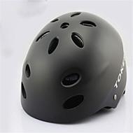 キックスケーター/ スケートボード/ ローラースケート用ヘルメット 子供用 成人 ヘルメット CE Certification マウンテン 青少年 のために マウンテンサイクリング サイクリング ハイキング 登山 スケートボード インラインスケート ブラック ピーチ レッド